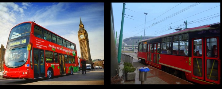 (l) London. Image courtesy wired.com, (r) Katowice. Photo credit Kelise Franclemont.