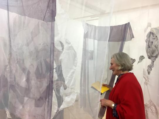 'Maze of Fabrics' by Alex Roberts, Karina Kaluza, and Monika Mysiak.